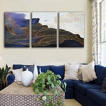 Gemälde Wohnzimmer | Wwj Magic Muster Dekoratives Gemalde Rahmenlose Gemalde Wohnzimmer