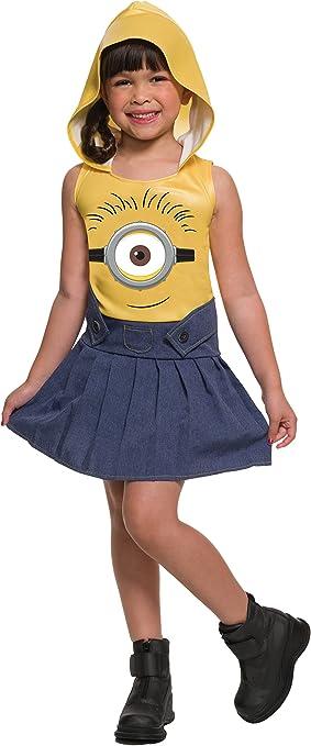 Disfraz de Minion divertido para niña: Amazon.es: Juguetes y juegos