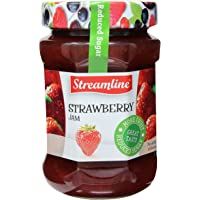 Streamline Reduced Sugar Strawberry Jam, 340g