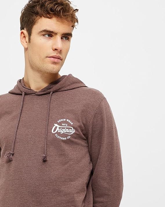JACK   JONES Herren Hoodie Sweatshirt Pullover Kapuzenpullover  Amazon.de   Bekleidung 55cc70a81f