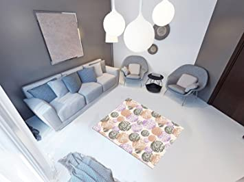 Fußboden Matte Küche ~ Pvc vinyl fussboden fußboden boden teppich matte forwall kreise