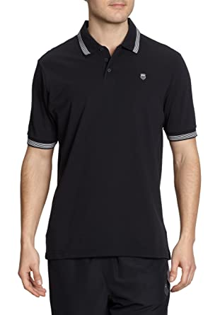 K-SWISS - Camiseta de pádel para Hombre, tamaño XL, Color Negro ...