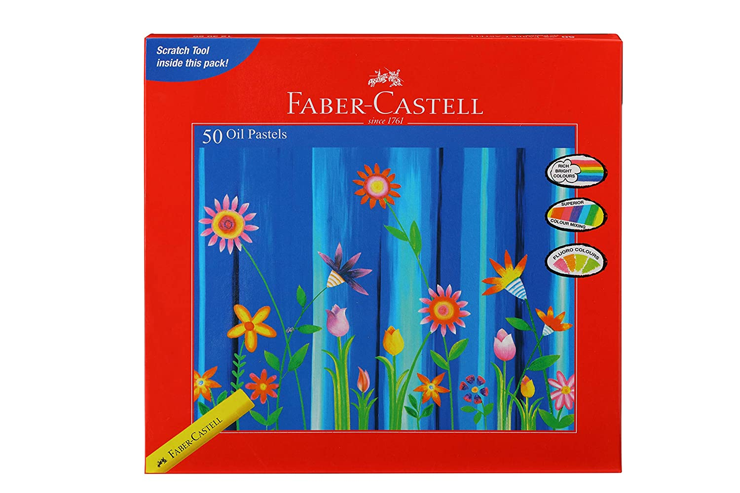 Faber-Castell Oil Pastels (Pack of 50)