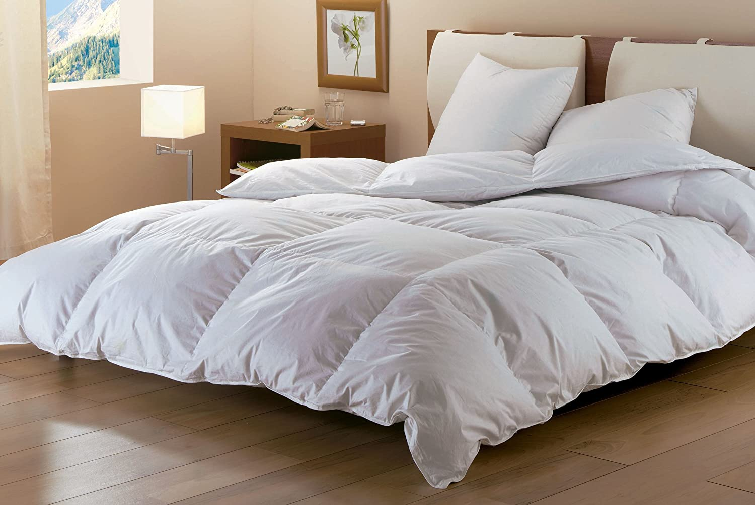 oreiller duvet d oie ou de canard gallery of surmatelas drouault stella naturel gm en duvet oie. Black Bedroom Furniture Sets. Home Design Ideas