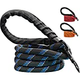 Candure Dog Lead with Soft Padded and Anti Slip Comfortable Rope Handle, 5 FT Strong Dog Leads, Highly Reflective Dog Leash f