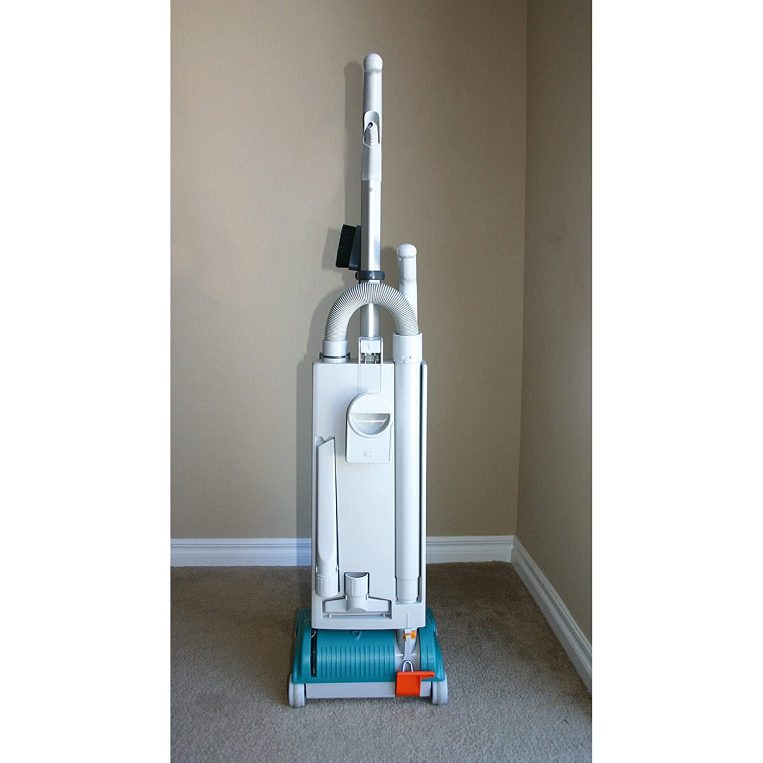 Sebo vacuum cleaners at bed bath and beyond - Amazon Com Sebo 9591at Essential G1 Upright Vacuum With 12 Inch Power Head Light Gray And Teal Corded Household Upright Vacuums