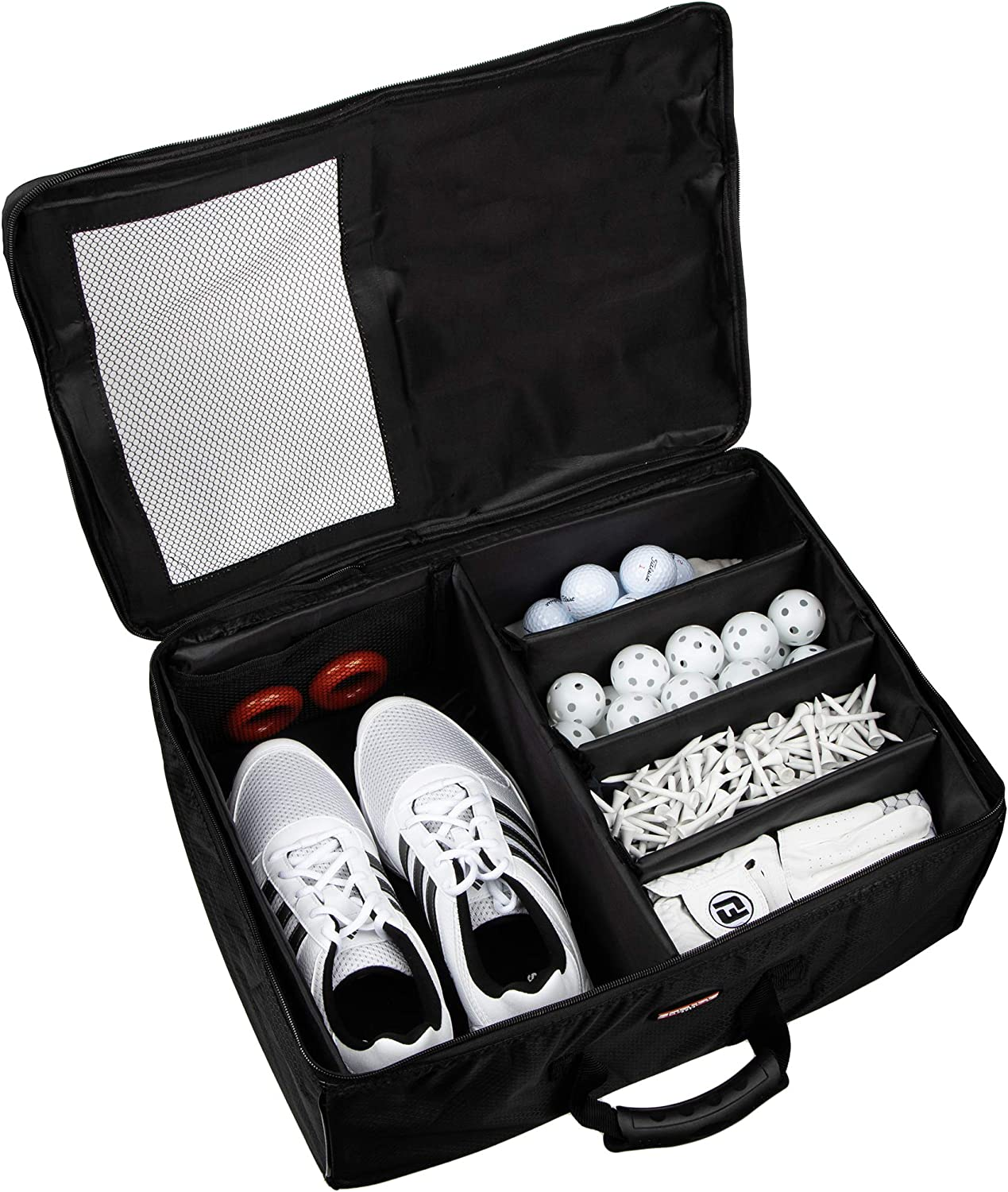 Stripe Golf Trunk Organizer and Travel Storage Locker