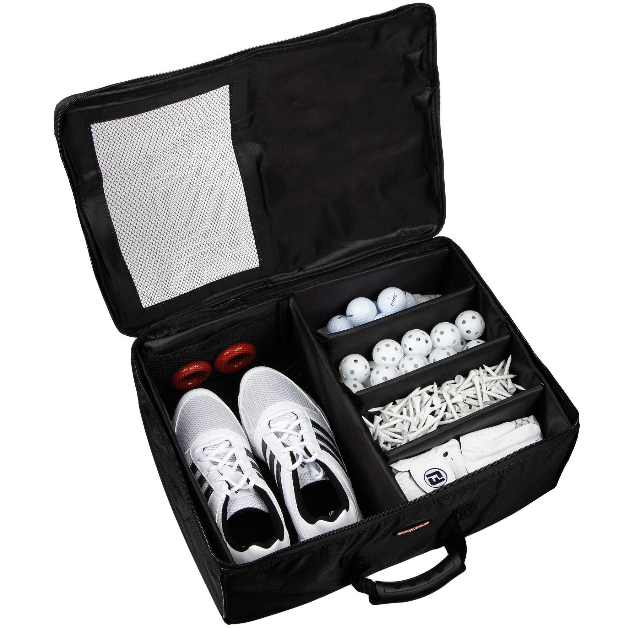 Stripe Golf Trunk Organizer and Travel Storage Locker by Stripe Golf