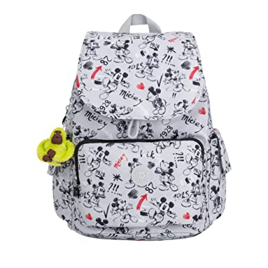 c8f27de6f1e Amazon.com  Kipling Disney s 90 Years Of Mickey Mouse Citypack Backpack One  Size Sketch Grey  Shoes