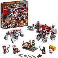 LEGO Minecraft 21163 The Redstone Battle Building Kit (504 Pieces)