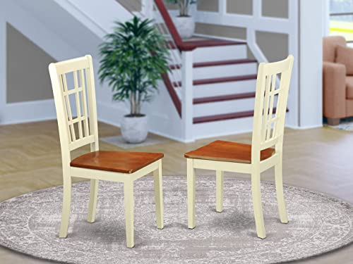 East West Furniture Nicoli Kitchen Chair