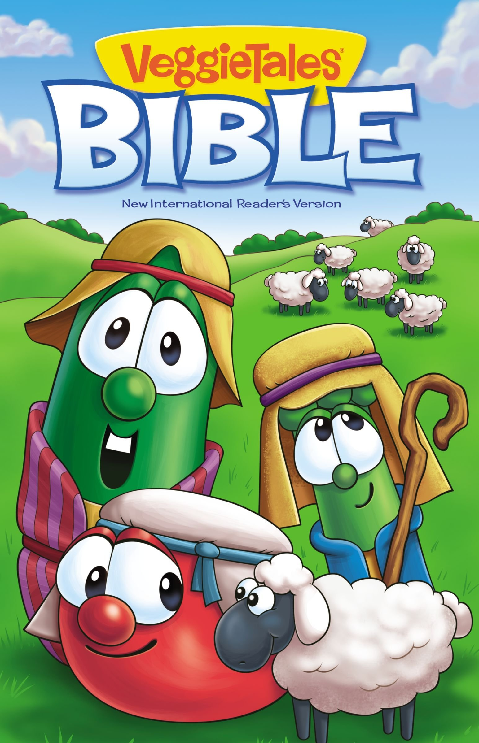 NIrV, VeggieTales Bible, Hardcover (Big Idea Books): Zondervan ...