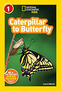 national geographic readers caterpillar to butterfly - Live Butterfly Garden