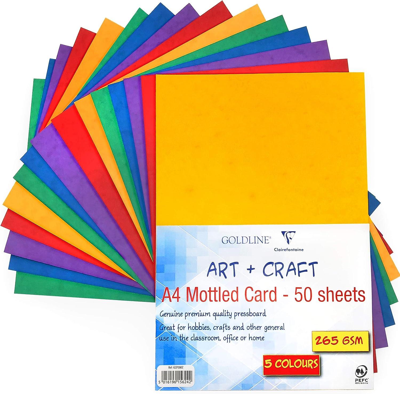 A4 colori assortiti Artbox Confezione da 100 fogli di carta colorata