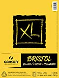 "Canson XL Series Bristol Vellum Pad, 9""X12"" Fold Over"