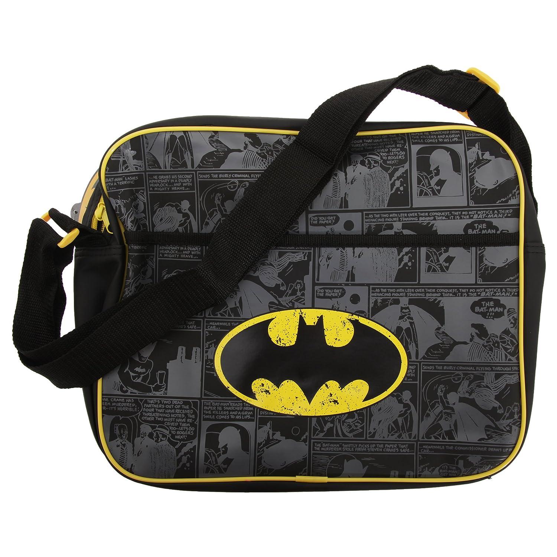 Batman Official Faux Leather Shoulder Strap Messenger Bag BATMAN001016-255