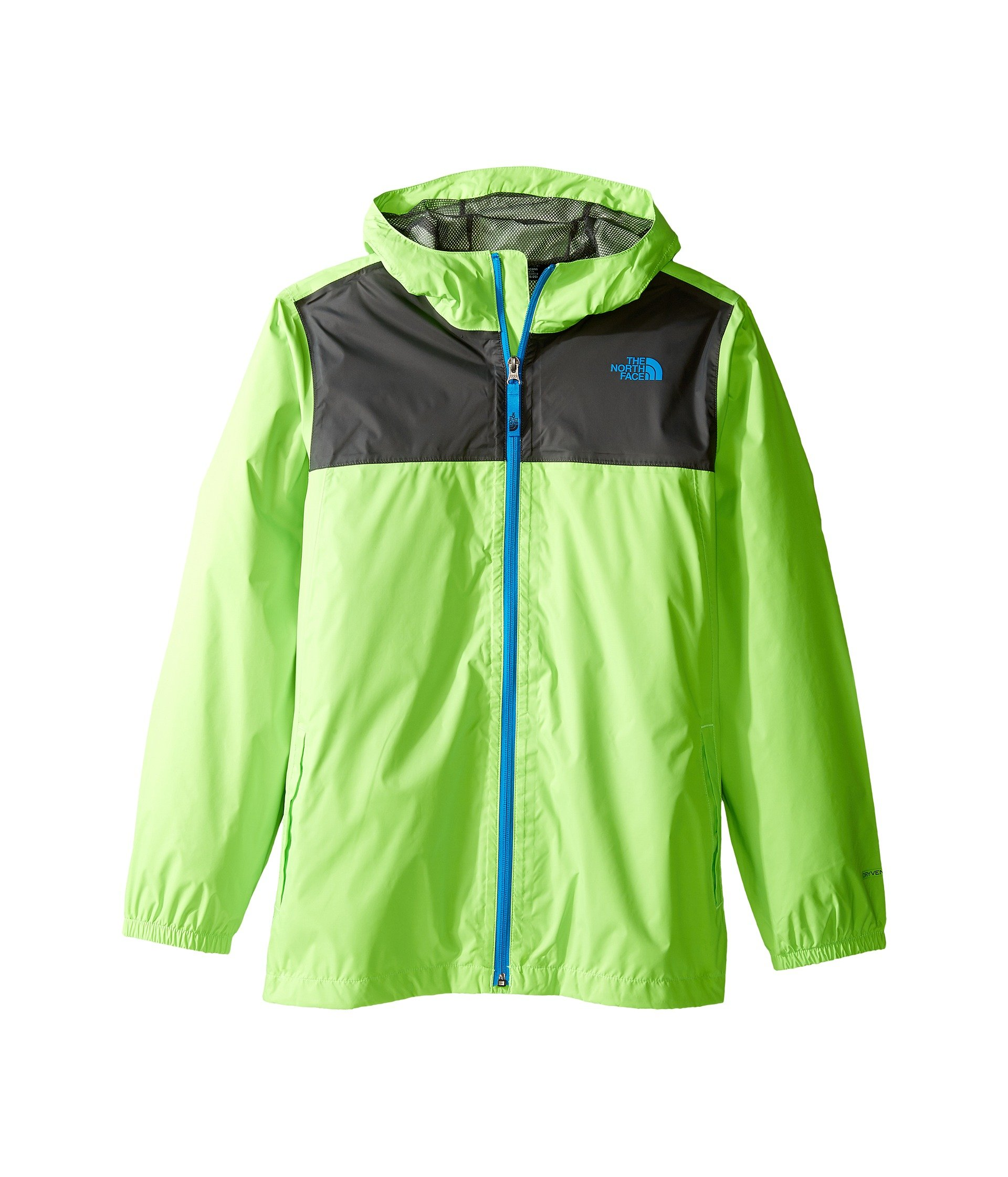 a1dda75f4 The North Face Boy s Zipline Rain Jacket Power Green XS