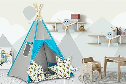 Teepee tenda per bambini di cotone wigwam progettato da dreamzzz