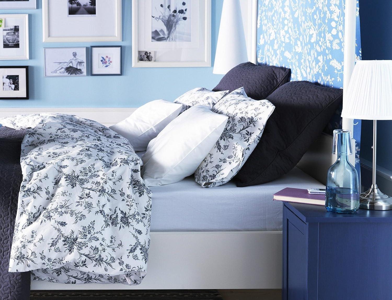 amazoncom ikea alvine kvist 2pc twin duvet cover 100 pecent cotton sateen floral duvet cover sets everything else - Duvet Covers Ikea