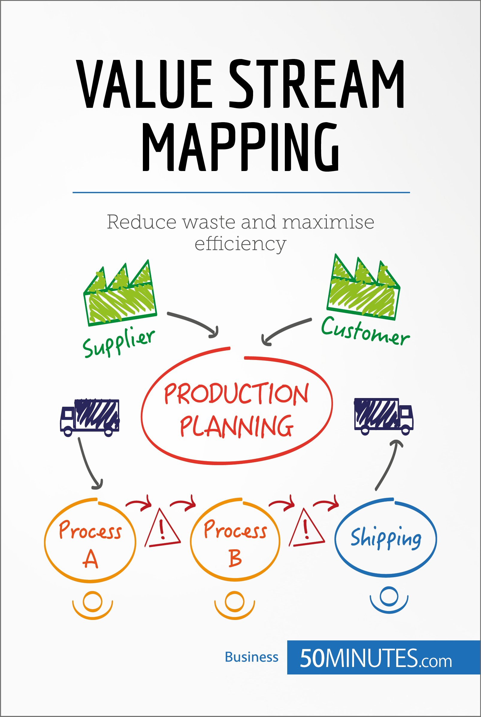 Value Stream Mapping  Reduce Waste And Maximise Efficiency  Management And Marketing   English Edition
