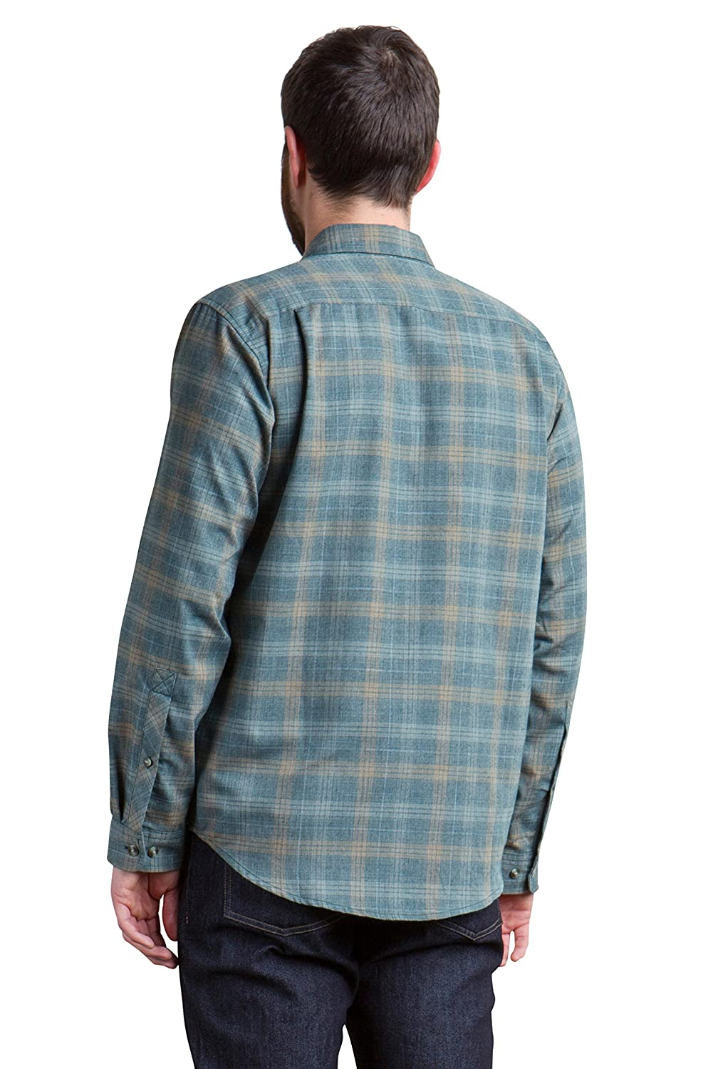 ExOfficio Mens Okanagan Macro Check Long Sleeve Shirt