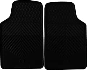 Highland 4602600 All-Weather Black Front Seat Floor Mat