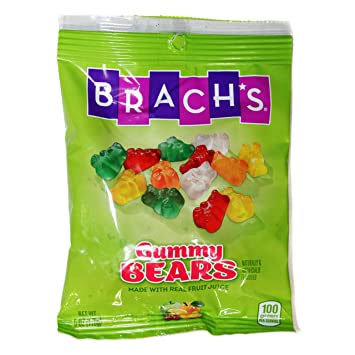 Brachs (1) bolsa de oso para goma, sabor a fruta, hecho con ...