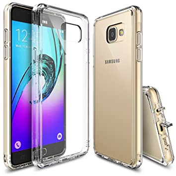 Ringke Fusion Compatible con Funda Galaxy A3 2016 Absorcion de Choque Cojín Carcasa para Galaxy A3 2016 - Crystal View