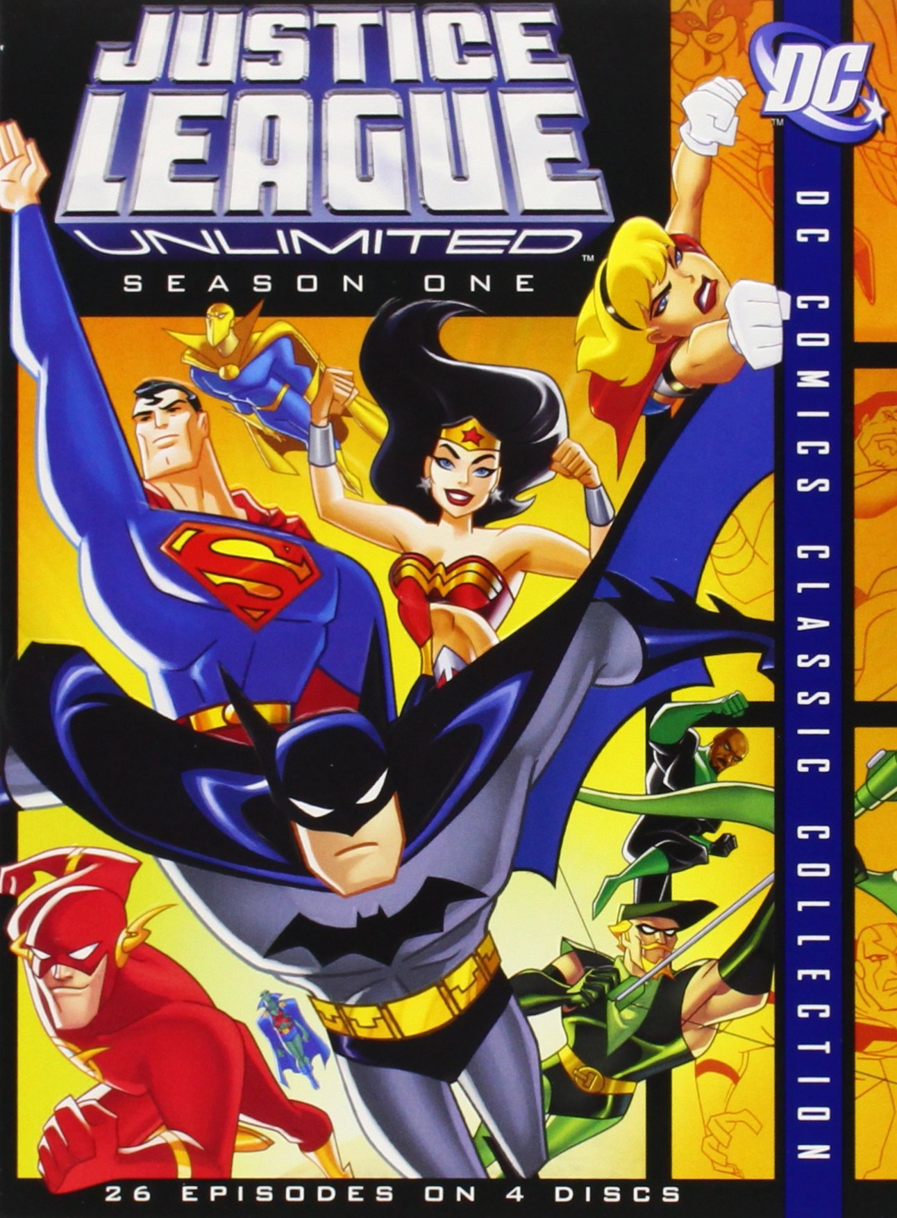 Justice League Unlimited, Seasons 1-2 (DC Comics Classic Collection) by Justice League