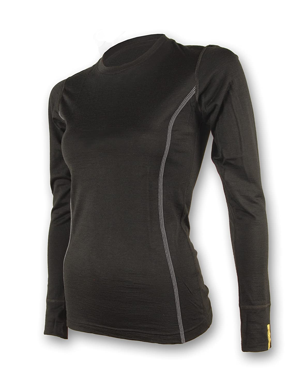 Sensor Merino Wool Damen T-shirt LS