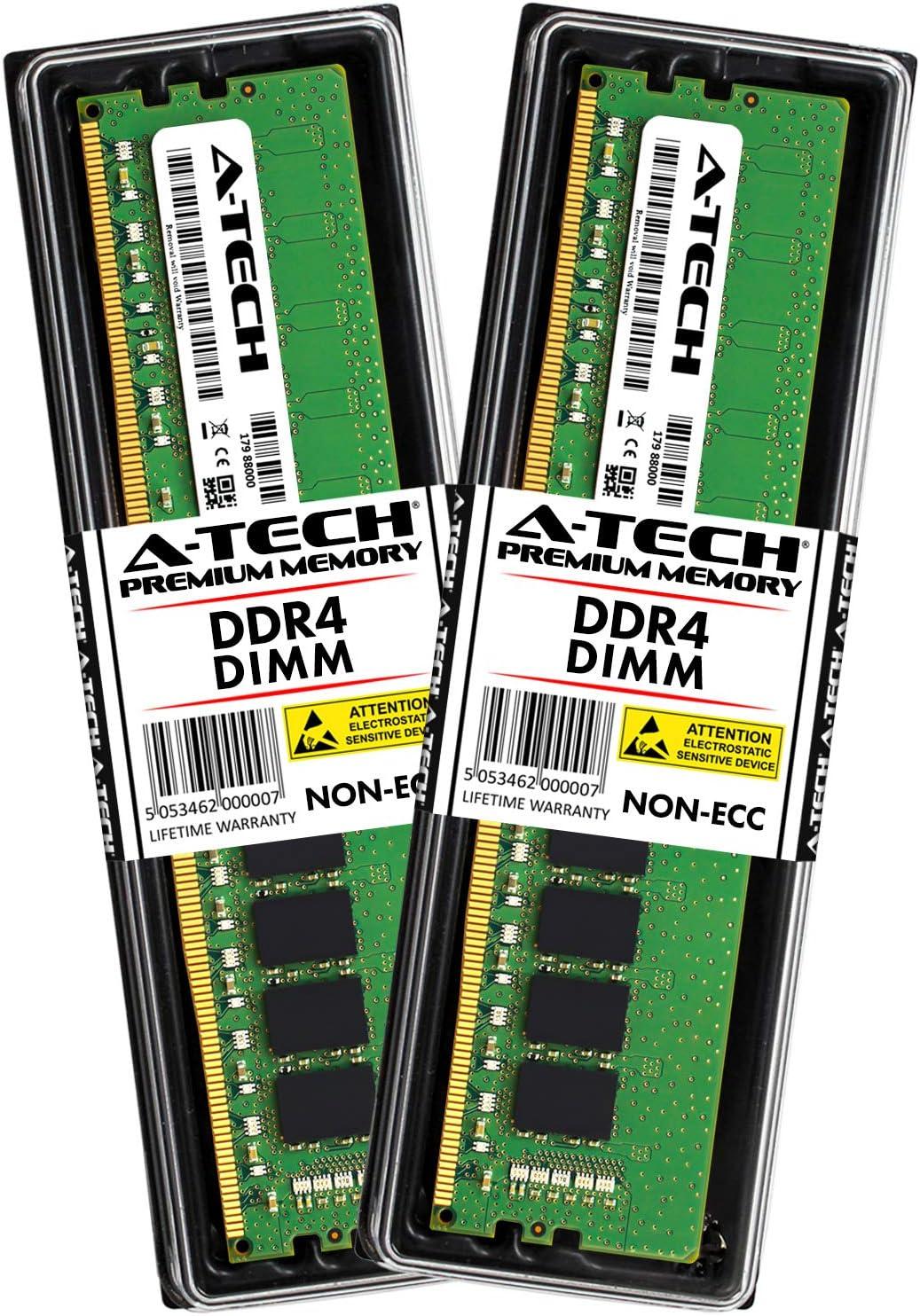 A-Tech 32GB Kit (2 x 16GB) for Dell XPS 8930 T8930 8920 T8920 8910 T8910 8900 T8900 Desktop Computer Memory Ram Modules