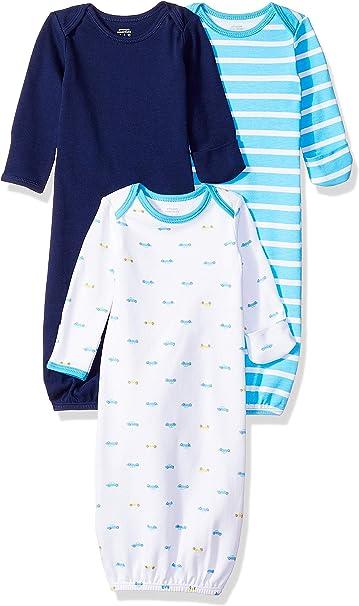 Amazon Essentials - Pack de 3 sacos de dormir de bebé para niño ...