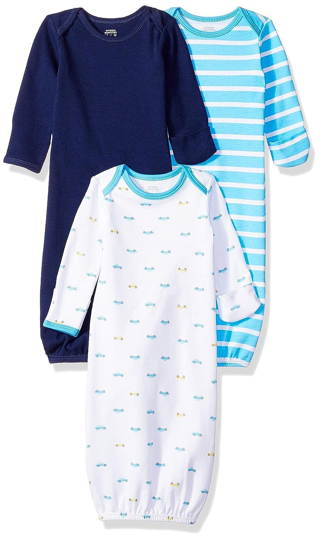 Essentials Confezione da 3 camicie da notte per neonati
