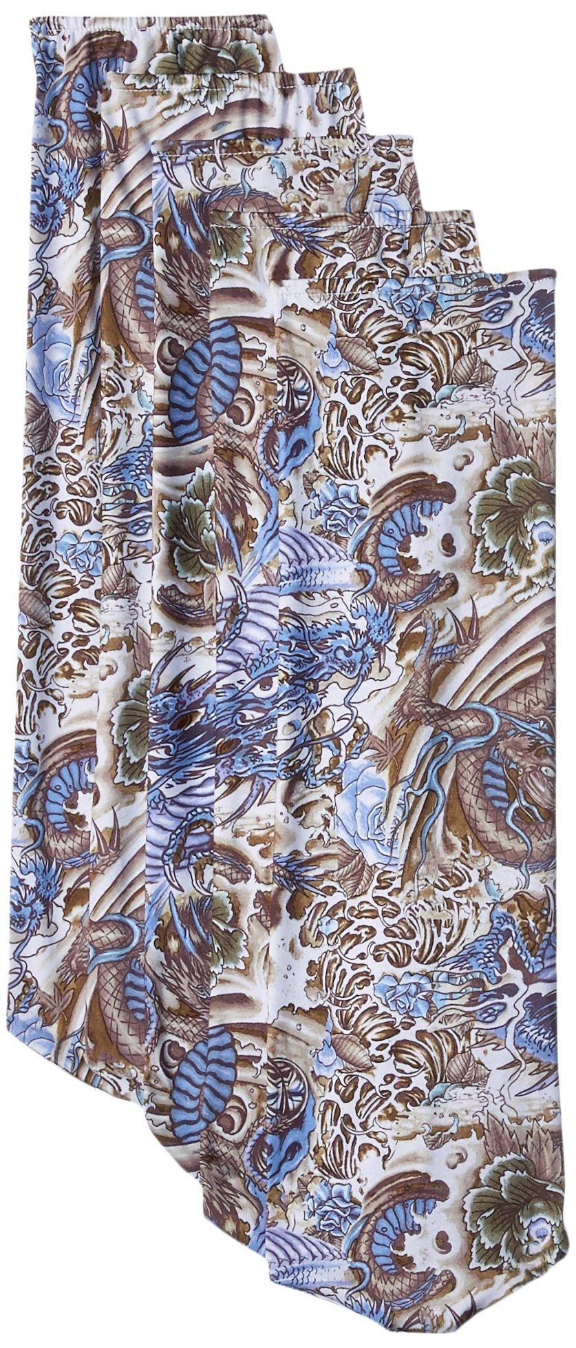 Fan Blade Designs 284600224 Blue Hidden Dragon Ceiling Fan Blade Covers