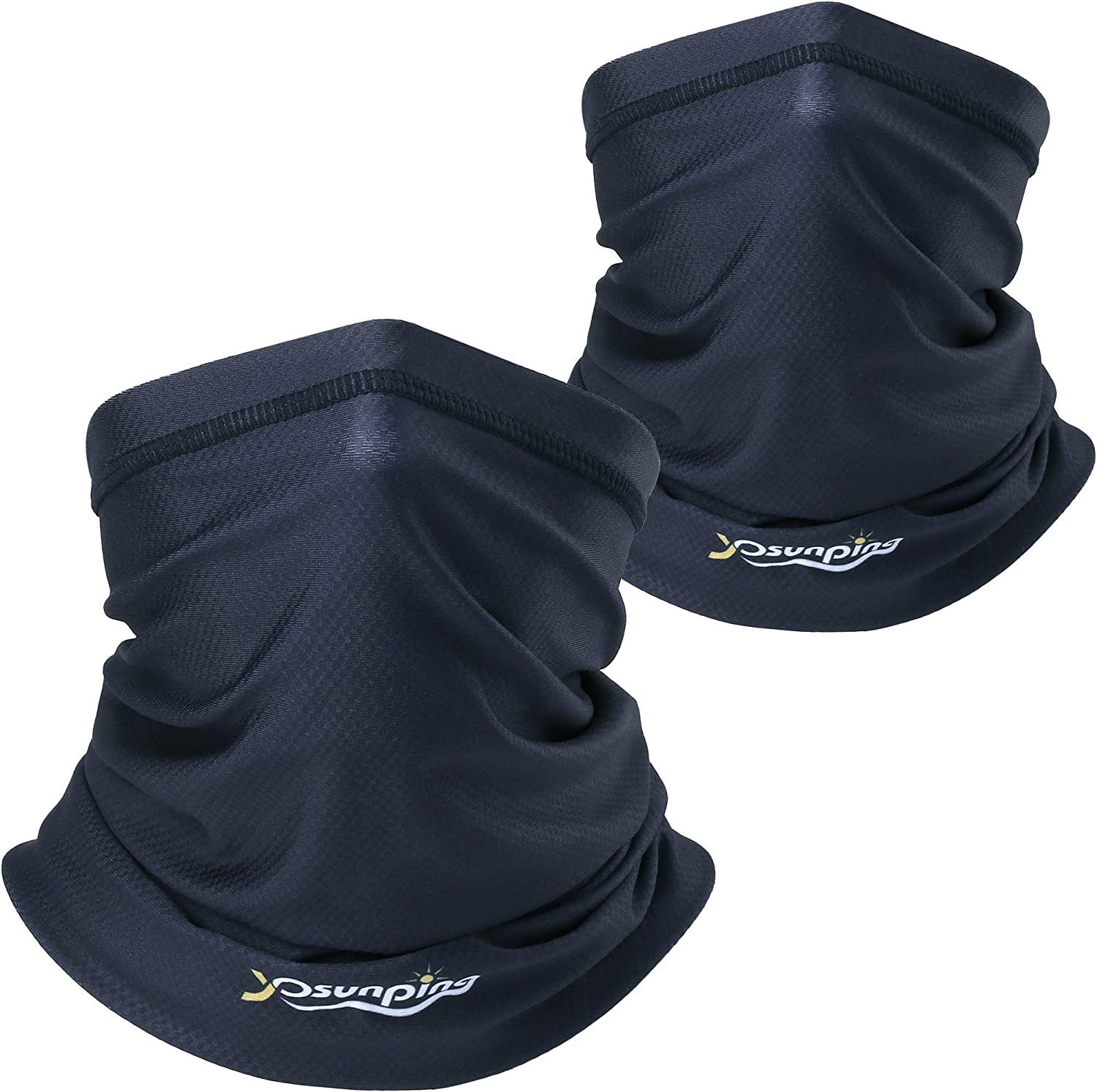 YOSUNPING UPF 50+ Bandana Face Mask Mouth Cover for Dust, Wind, Outdoors, Sports
