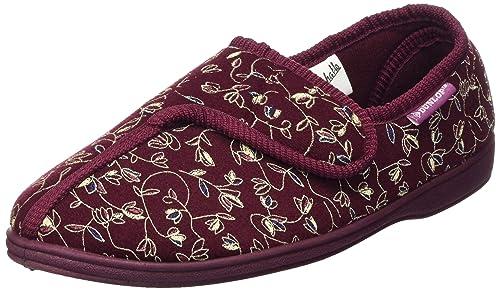 nuances de baskets pour pas cher quantité limitée Dunlop Campagne Femmes Imprimé Floral Scratch Pantoufles
