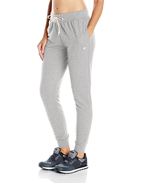 710c9a57dccd Champion French Terry Jogger - Pantalón de chándal para Mujer, Gris Oxford,  XS