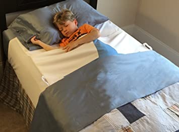 Amazon.com: Luxurious Waterproof Bed Wetting Pad Protects Top And Bottom  Sheets, Blanket, Comforter And Mattress From Bed Wetting.