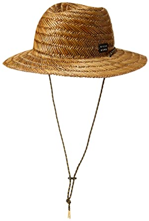 Amazoncom Billabong Mens Nomad Straw Hat Brown One Clothing