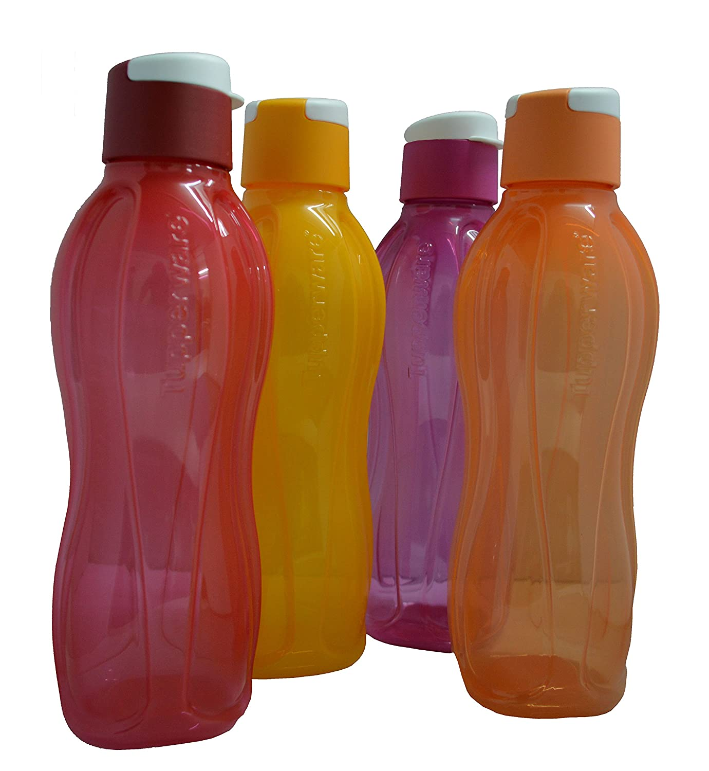 Tupperware Flip Top water Bottles