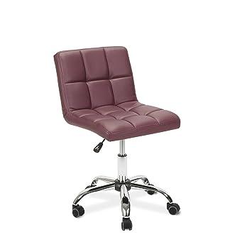Amazon.com: Esthetician técnico Taburete Toto Borgoña silla ...