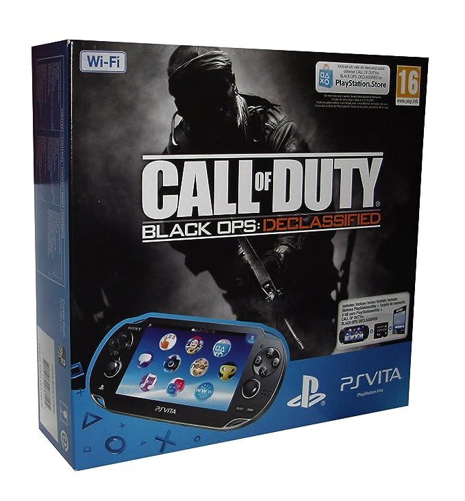 PS Vita - Consola Wifi + MC 4GB + COD BO: Declassified ...