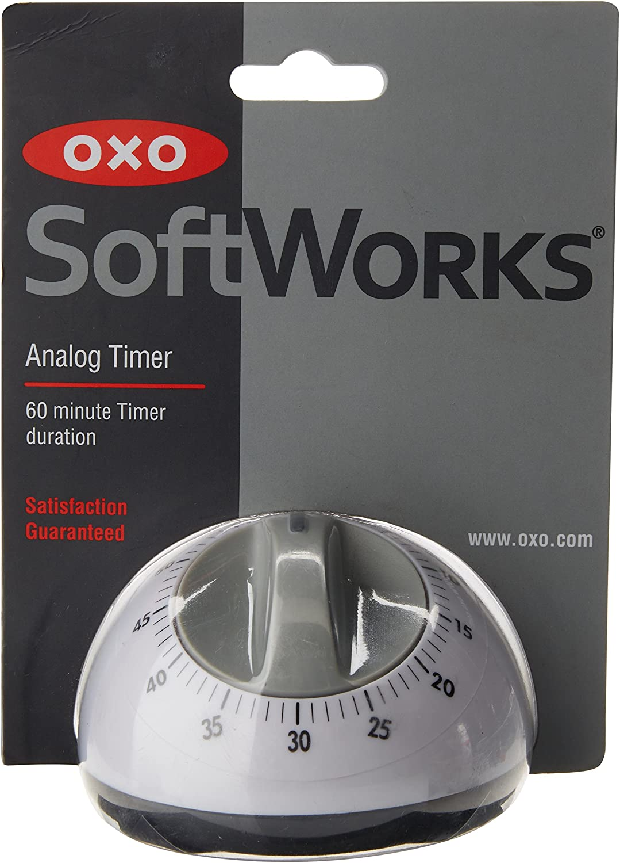 OXO Analog Timer, White