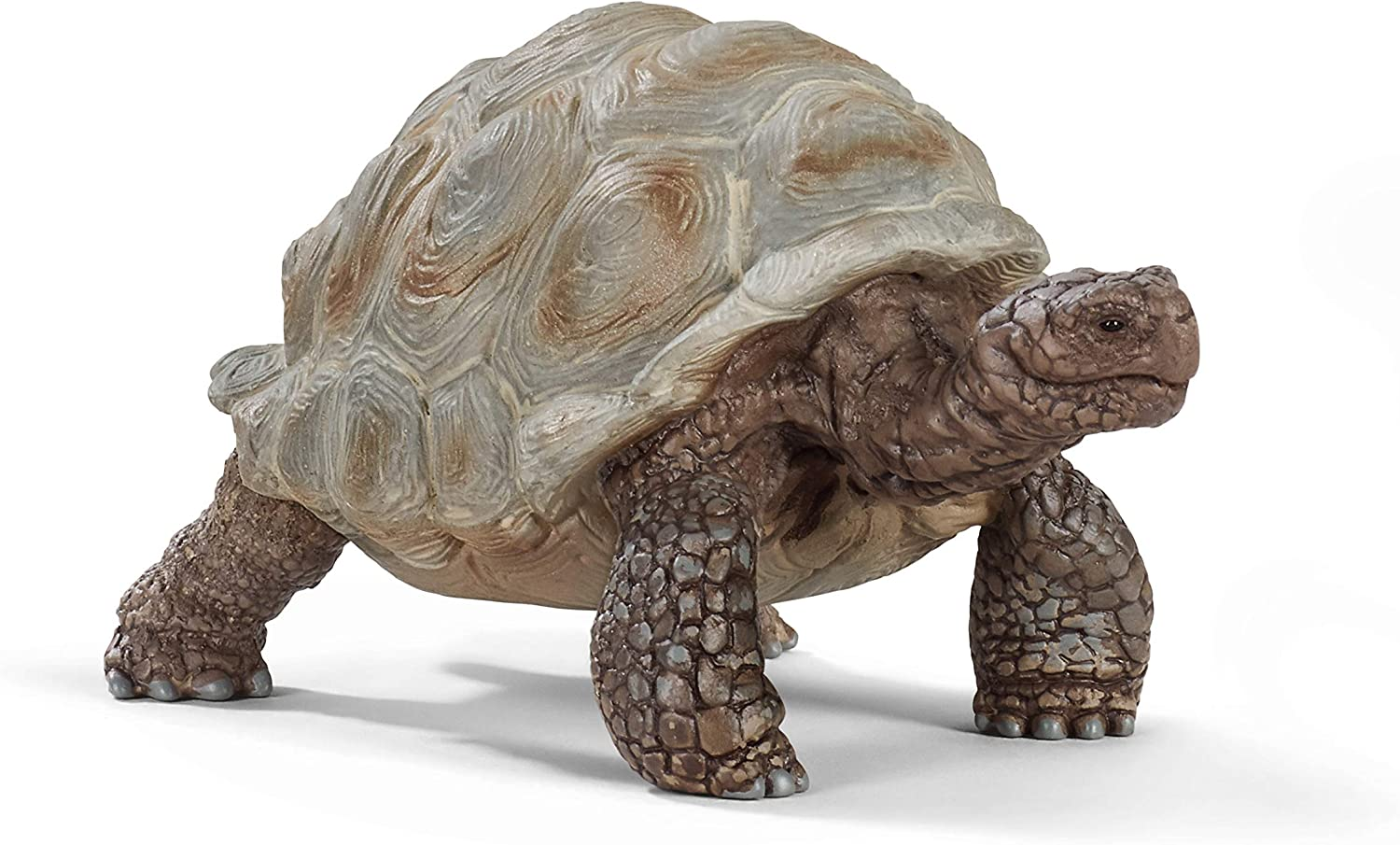 SCHLEICH Wild Life Giant Tortoise Educational Figurine for Kids Ages 3-8