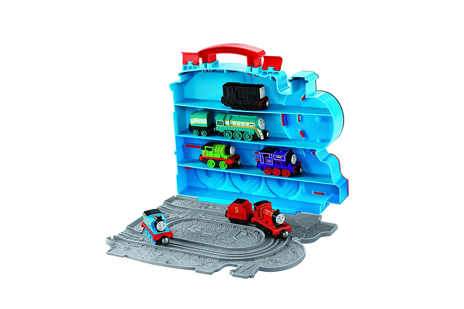 Fisher-Price Thomas /& Friends Take-n-Play On-the-Go Playbox