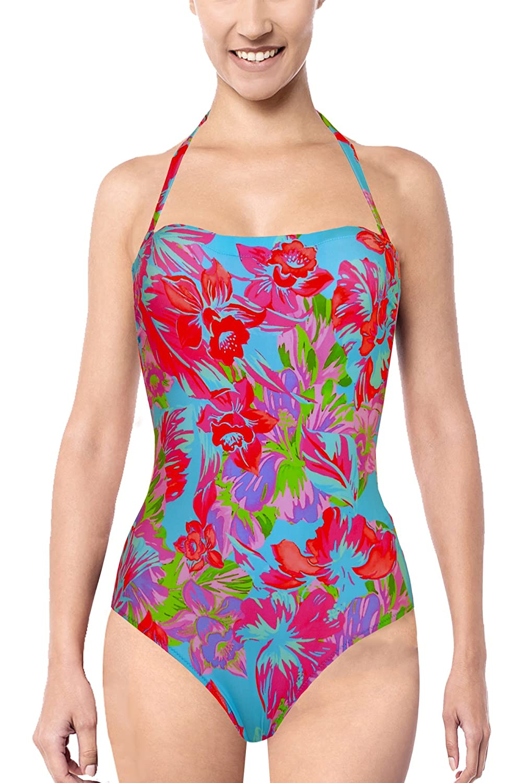 Tessy Beachwear, Badeanzug, bunt