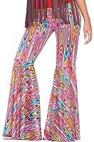 Forum Novelties Women's Generation Hippie Wild Swirl Bell-Bottom Costume Pants