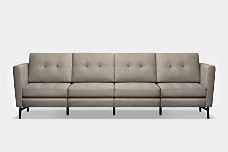 Exceptionnel The Burrow Sofa   Beige 4 Seater High Arm
