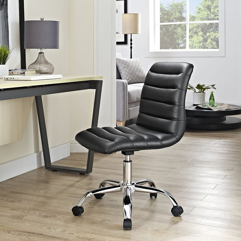Amazon Modway Ripple Mid Back fice Chair Black Kitchen