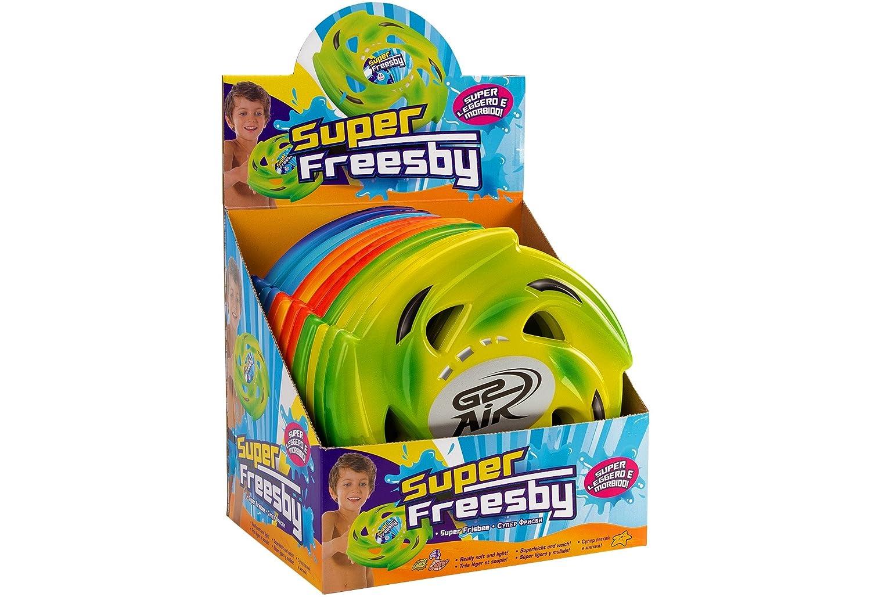 Globo Juguetes Globo 37166–22,5cm, 3Color Verano Espuma Frisbee en una Caja (–) (, 1Unidades Piezas) Globo Toys Globo - 37166